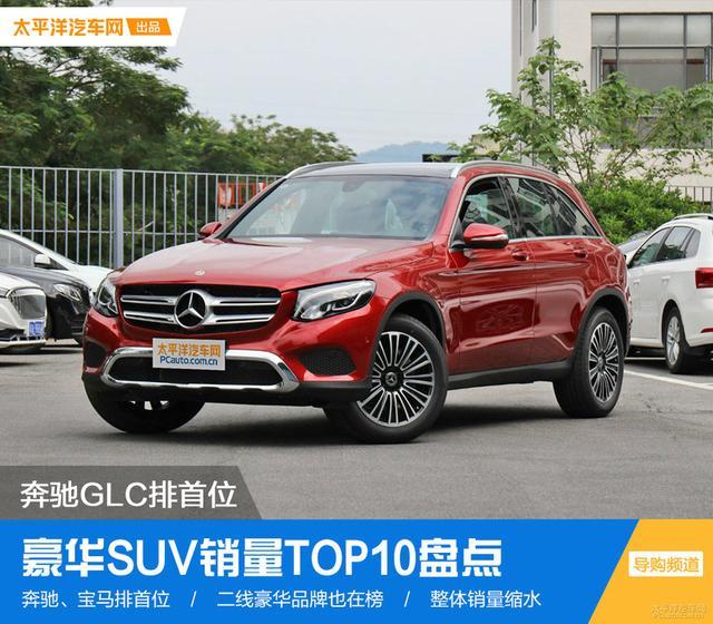 奔驰GLC排首位 豪华SUV销量TOP10盘点