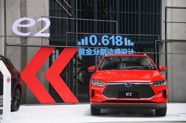 比亚迪8月销量:新能源汽车下跌23.44%,不容乐观