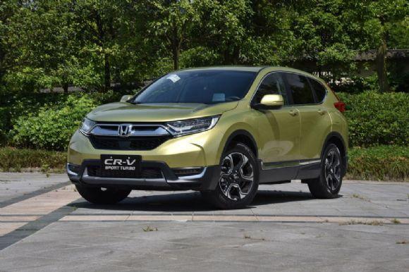 4月合资SUV销量排行榜,本田CR-V重夺冠军,途观L升至第四