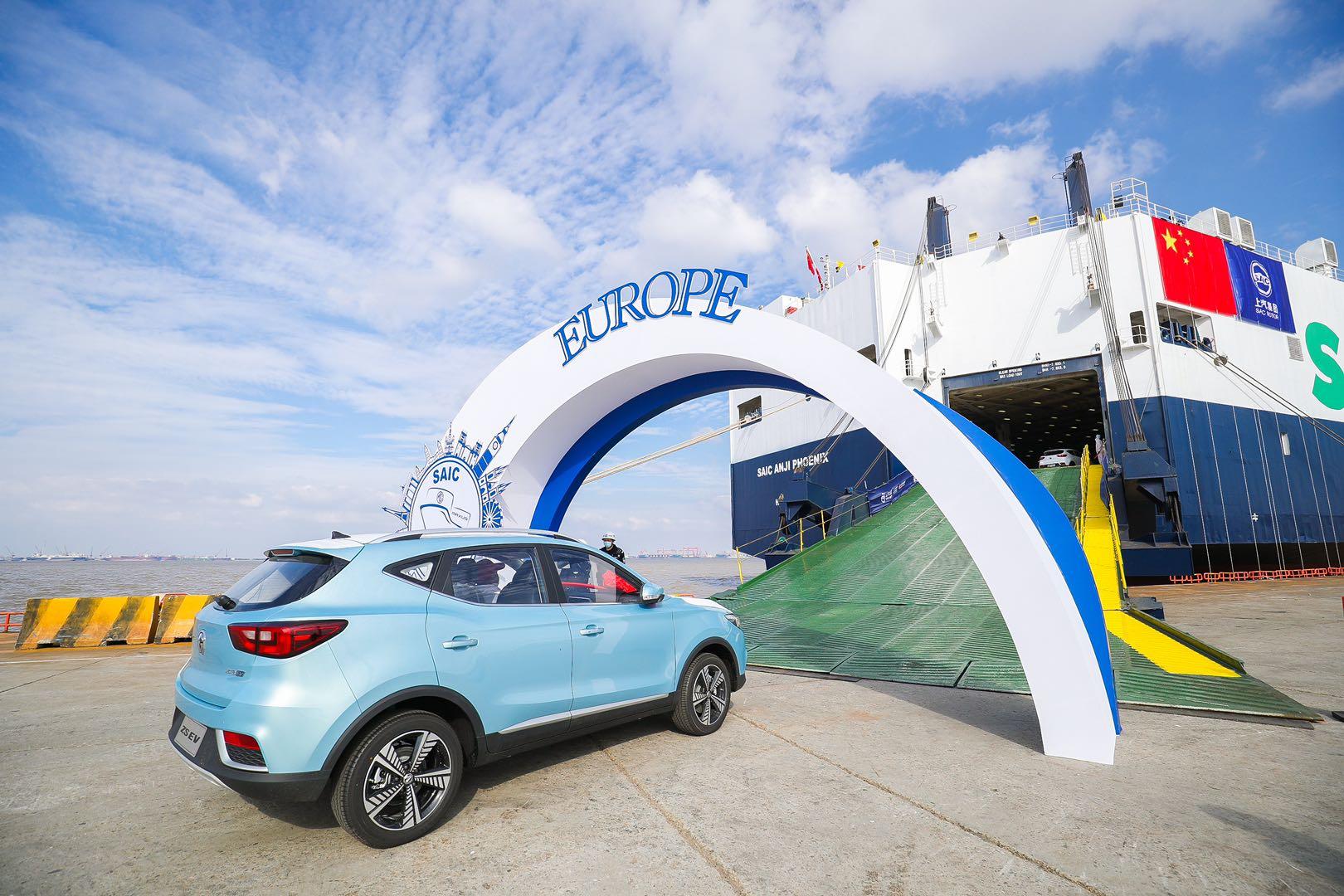 上汽大众销量下滑24.79%,上汽新能源汽车32万辆