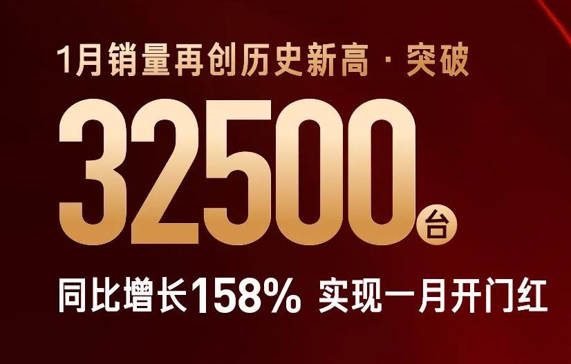 单月销量再创历史新高,同比涨幅158%!红旗大有全年翻番之势