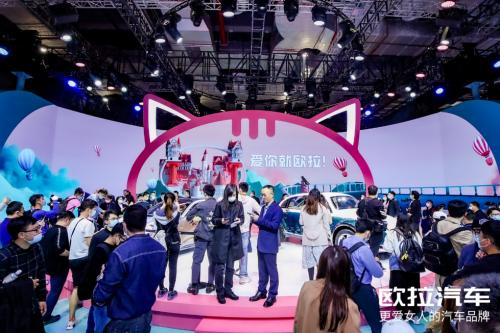欧拉首款A+级SUV正式亮相 喵系家族再添实力偶像