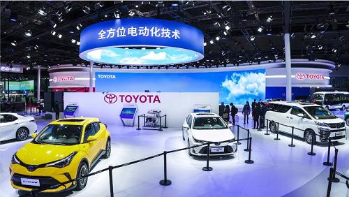 TOYOTA bZ纯电动专属系列全球首发