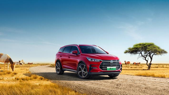 比亚迪四月销量公布,新能源车型增速明显
